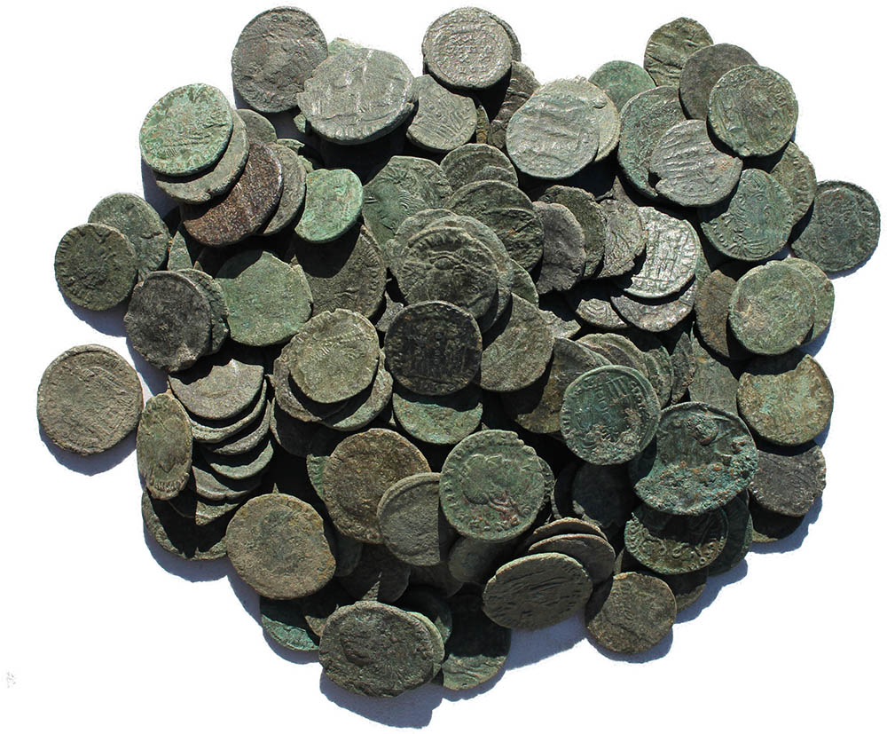Mid Grade Premium Uncleaned Ancient Roman Coins - Loved by the Masses!