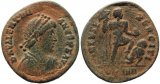 Roman coin of Valentinian II - VIRTVS EXERCITI