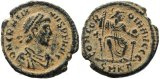 Roman coin of Gratian - CONCORDIA AVGGG - Cyzicus