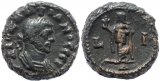 Roman coin of Diocletian Potin Tetradrachm minted in Alexandria, Egypt - Year 10