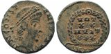 Roman coin of Constans as Augustus - VOT XX MVLT XXX
