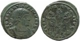 Roman coin of Constantine II - GLORIA EXERCITVS - Constantinople