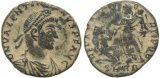 Ancient Roman coin of Valentinian II - REPARATIO REIPVB - Rome