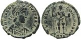 Ancient Roman coin of Theodosius I - GLORIA ROMANORVM - Nicomedia