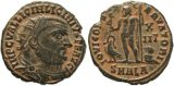 Roman coin of Licinius I AE Post Reform Radiate, AD 321-324, ALEXANDRIA