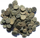 Ancient Uncleaned Nabatean coins from the Holyland!