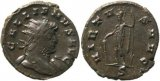 Roman coin of Gallienus Antoninianus - VIRTVS AVG - 4.4 grams