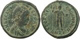 Roman coin of Arcadius Ae2 - GLORIA ROMANORVM - Antioch Mint - 15 May 392 - 17 Jan 395AD