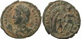 Roman coin of Constans cententionalis - FEL TEMP REPARATIO - Antioch Mint