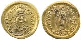 Ancient Byzantine Gold coin of Leo I  (457-474 AD ) Gold solidus - Constantinople mint
