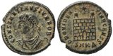 Roman coin of Constantine II - PROVIDENTIAE CAESS - Cyzicus Mint