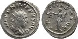 Roman coin of Philip I The Arab - Antoninianus - AEQVITAS AVGG