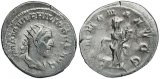Philip I 'the Arab' silver antoninianus - ANNONA AVGG