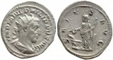 Roman coin of Philip I AR silver antoninianus - SALVS AVG