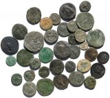 36 Ancient Roman Provincial coins - 14-31mm