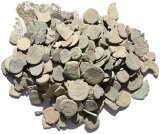 Over 150 small, low grade ancient coins from the Holyland