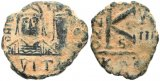 Byzantine coin of Justin II and Sophia - Carthage Mint